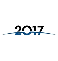 2017 year discovery new year space universe vector