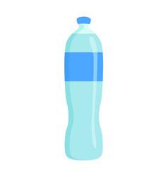 Bottle pure water banner vector