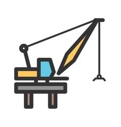 Harbor Crane vector