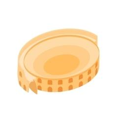 Roman Colosseum icon isometric 3d style vector