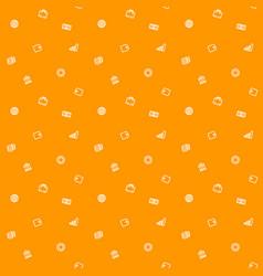 Seamless pattern finance money background vector