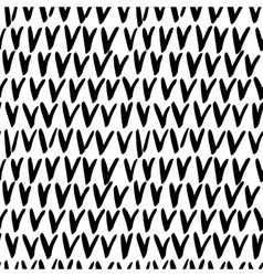 Seamless stylish hand drawn pattern vector image
