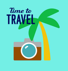 Tourist travel vector