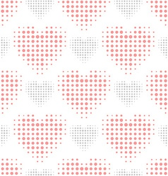 Color love seamless pattern vector image vector image