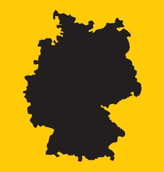 Germany map1 vector image