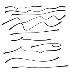 set of hand drawn vector image