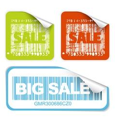 bar codes vector image