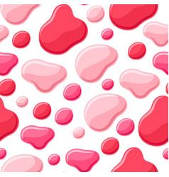 Drops of nail polish seamless pattern vector