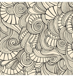 Ornamental vintage Floral abstract seamless vector image