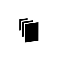 Papers icon vector
