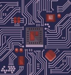 Retro electronic preview vector
