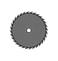 saw disc vector image