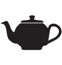 Tea Pot Icon vector image