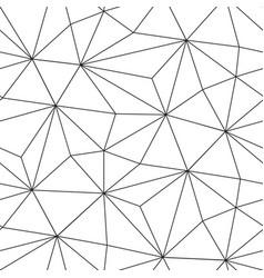 triangular black background with luxury geometric vector image