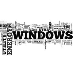 Windows and killer utility bills text word cloud vector