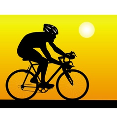 led athlete vector image