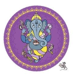 Lord Ganesha Hand drawn vector image