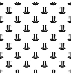 American hat pattern simple style vector