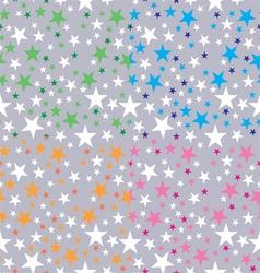 Background shining stars vector