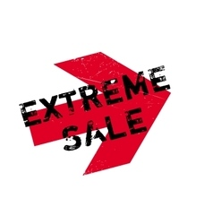 Extreme Sale rubber stamp vector
