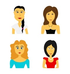 faces 2 vector image