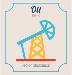 Oil icon vector