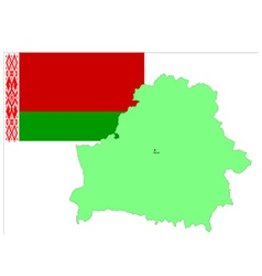 6216 belarus map and flag vector