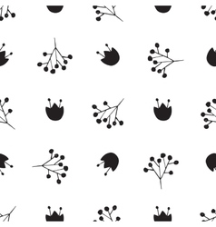 Black and white abstract pattern vector