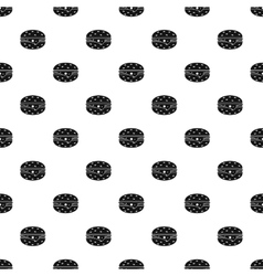 Cheeseburger pattern simple style vector