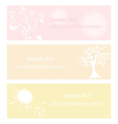 Flower pastel eps10 vector