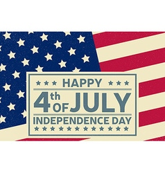 happy independence day background template vector image