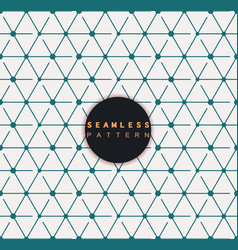 seamless pattern repeating geometric tiles vector image