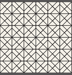 seamless pattern with squares stylish vector image
