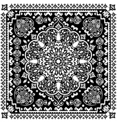 Turkish Rug Style Seamless Pattern Royalty Free Vector Image
