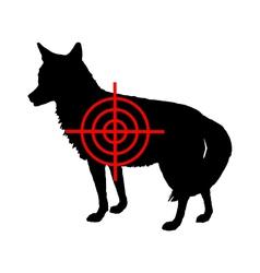 Coyote crosslines vector