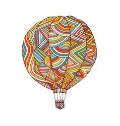 Balloon logo design vector image