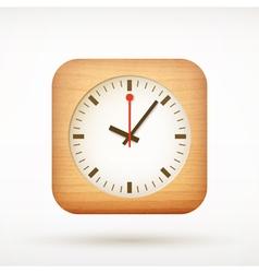 icon clock vector image