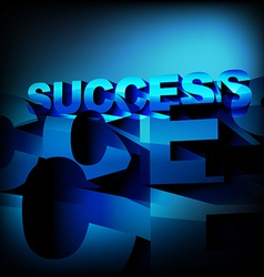 Abstract success background vector