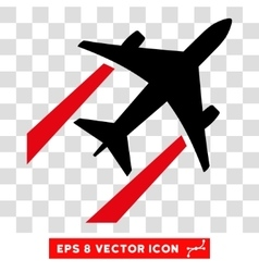 Air jet trace eps icon vector