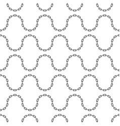 Black chain pattern vector