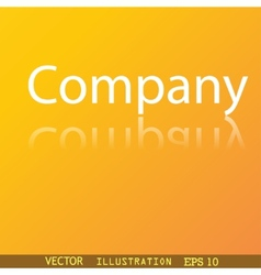 company icon symbol Flat modern web design with vector image