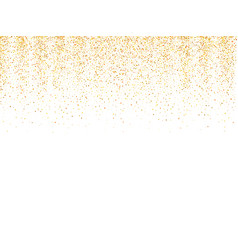 Gold glitter texture golden shiny sparkles vector
