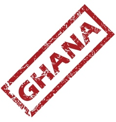 New Ghana rubber stamp vector image
