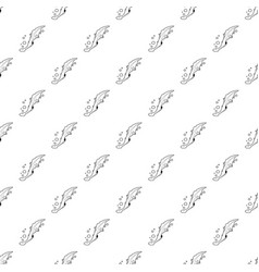 Water lizard icon outline style vector