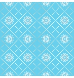 A simple pattern for winter vector image vector image