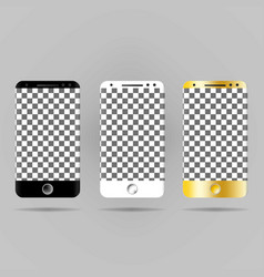 a realistic image of a white black and gold vector image
