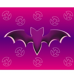bat five vector image