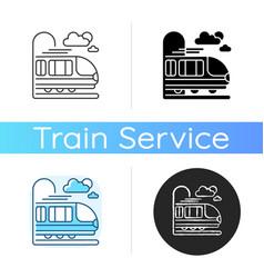 coach car icon vector image