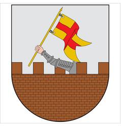 Coat arms amurrio in cuadrilla de ayala vector