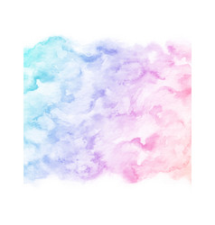 hand painted colorful watercolor texture vector image